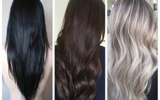 Цветотип зима цвет волос