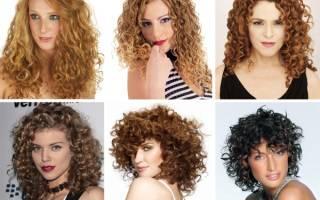Химия на средние волосы с челкой