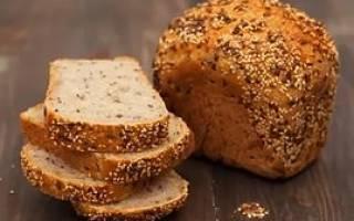 Хлеб цельнозерновой калорийность