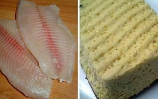 Суфле из рыбы диетическое