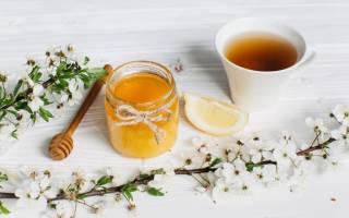 Чай с медом калорийность