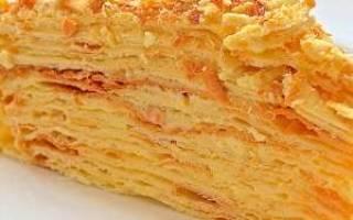 Торт наполеон калорийность