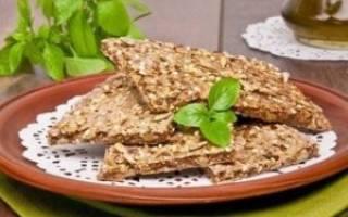 Хлебцы гречневые калорийность