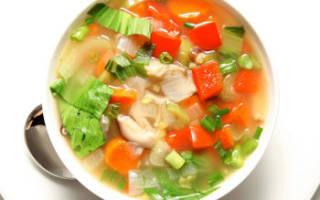 Суп для похудения из сельдерея лука капусты болг перца помидоров