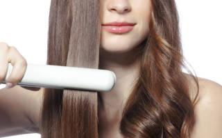 Титановое покрытие утюжка для волос