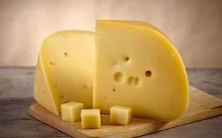 Сыр голландский калорийность