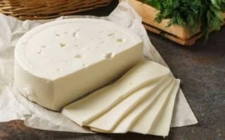 Сыр сулугуни калорийность